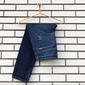 Michael Kors Vintage Wash Boyfriend Fit Jeans